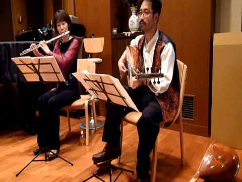 Greek traditional song. Oud-Kiyoshi Ohira  Flute-Mika Tachibana