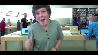 APPLE STORE DANCE TO STARSHIPS!!