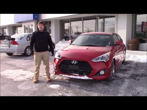 2015 Hyundai Veloster Turbo In-Depth Review and Test Drive