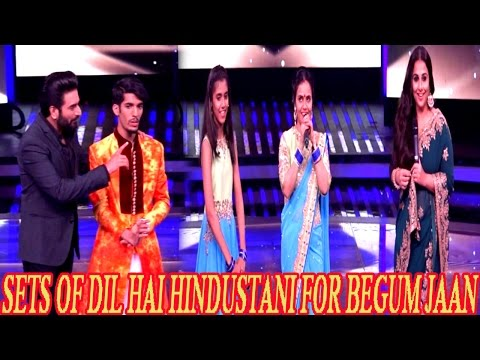 Vidya Balan On The Sets Of Dil Hai Hindustani For Begum Jaan | Latest News 2017 |