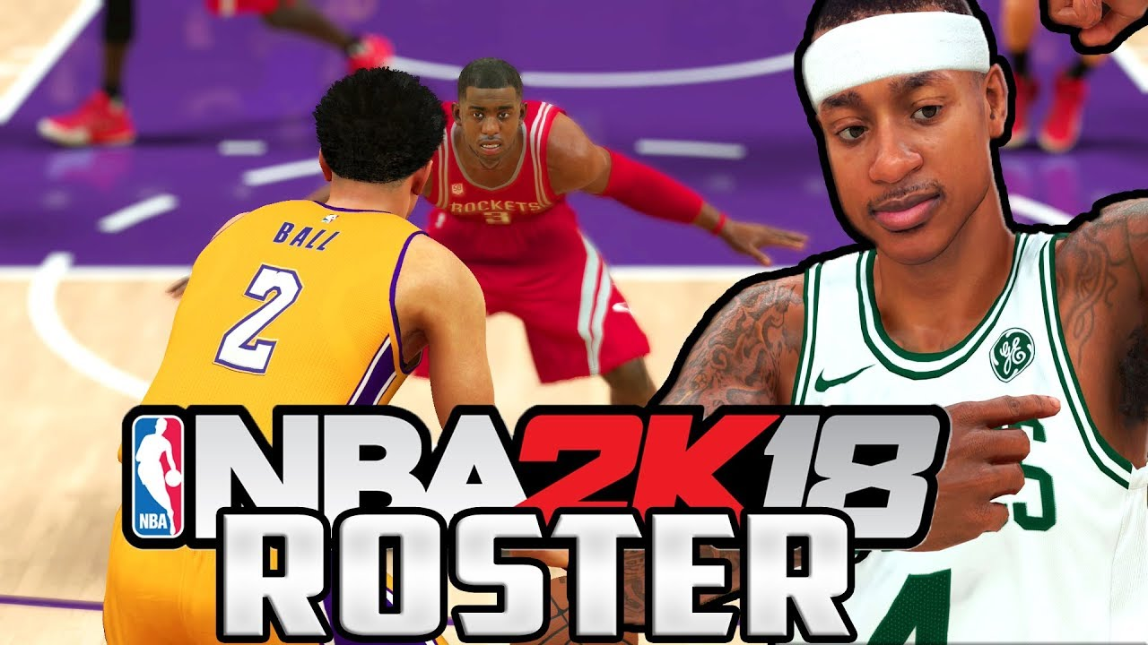 HOW TO DOWNLOAD THE NBA 2K18 ROSTER ON NBA 2K17! - YouTube 2ef91a24e