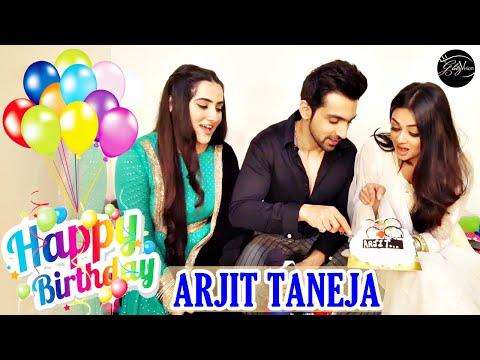 Arjit Taneja CELEBRATES B'day with co-stars Diana Khan, Samiksha Jaiswal & Glitzvision | Bahu Begum