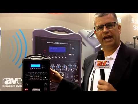 InfoComm 2015: Califone Launches PA419Q2 Speaker