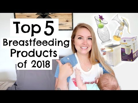 The 9 Most Suitable Products for Breastfeeding Moms Who Pump