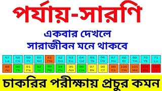 পর্যায় সারণি | Periodic Table Discussion | Chemistry Questions for Food SI, Group D Exam