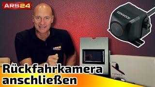 Rearview camera aan te sluiten goed aan op de auto radio | built-in-Tutorial