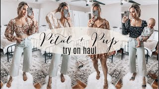 Petal Pup Spring Try On Haul   2021