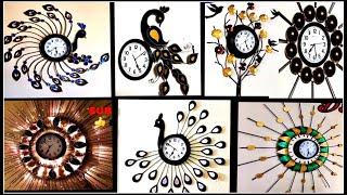 7 Wall Clock Decor Part  1 | Wall Hanging Craft Ideas | Fashion Pixies | Diy Wall Clock