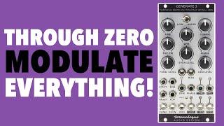 Joranalogue Generate 3 // Through Zero Modulate EVERYTHING! // Eurorack multiphonic signal generator