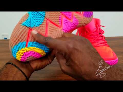 Kyrie 4  / lucky  charm ,quick unboxing review