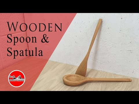 Wooden Spoon and Spatula