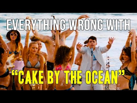 "Everything Wrong With DNCE - ""Cake By The Ocean"""