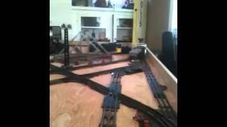 Erector set locomotive