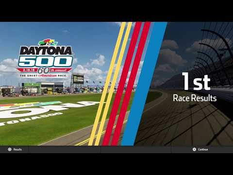 MY FIRST VIDEO EVER!! NASCAR Heat 3  