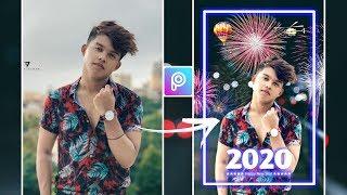 PicsArt Happy New Year 2020 Photo Editing Tutorial