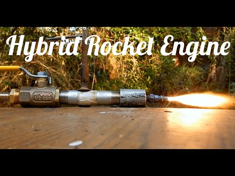 4th Test of Hybrid Rocket Engine