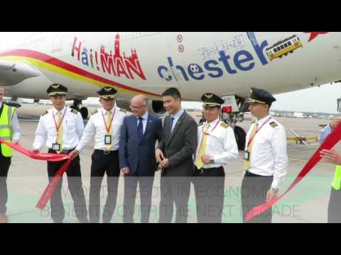 First Manchester to Beijing Direct Flight #NorthernPowerhouse