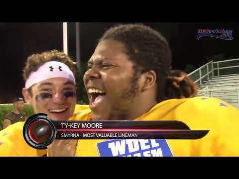Trammell's 'Pick 6' powers Gold to Blue-Gold victory