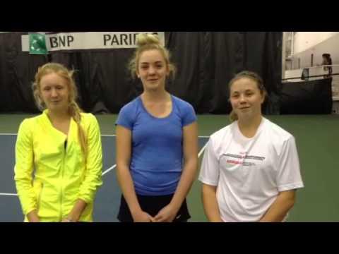Meet Canada's 2014 Junior Fed Cup team