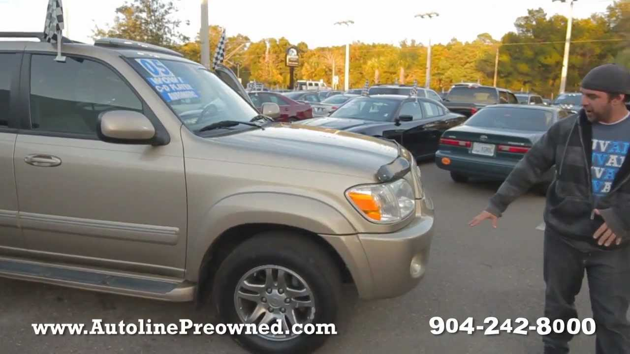 Autolineu0027s 2005 Toyota Sequoia Limited Walk Around Review Test Drive