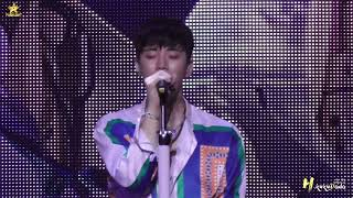 "[FANCAM] JUNHO Solo Tour 2018 ""FLASHLIGHT"" 『Give it to me』ZEPP"