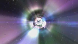 60FPS Hyper Space Travel Aurora Lights Style 1080p Animation Background