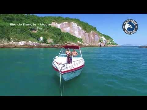 Falcon Drone — Ilha do Francês — Macaé-RJ