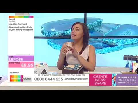 How To Make Polymer Clay Jewellery - JewelleryMaker LIVE (am) 01/07/2015