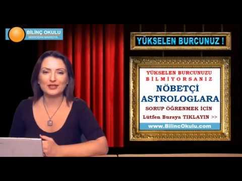 YAY Burcu Astroloji Yorumu  14 Ekim 2013  Astrolog DEMET BALTACI   astroloji, astrology