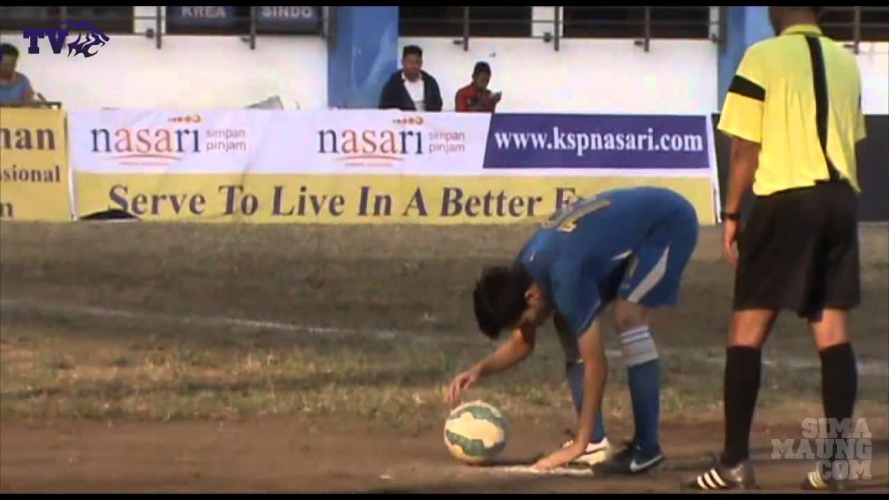 VIDEO Final Liga Ngabuburit Persib U19 vs Persib U 17 - YouTube