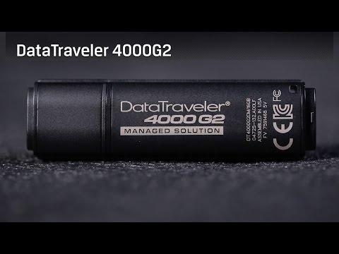 Kingston DataTraveler 4000 G2   Сертификация FIPS 140-2 Level 3