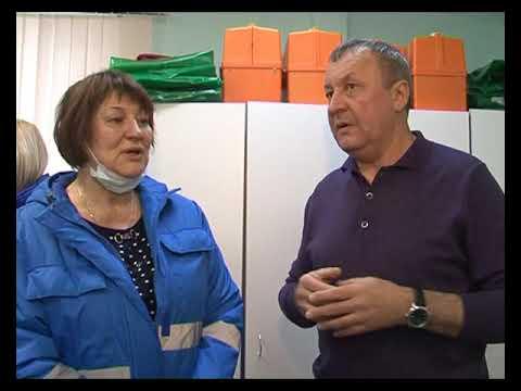 Проверка скорой помощи в Аксарке 18 11 2019