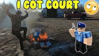 I Got Court Over My Truck!