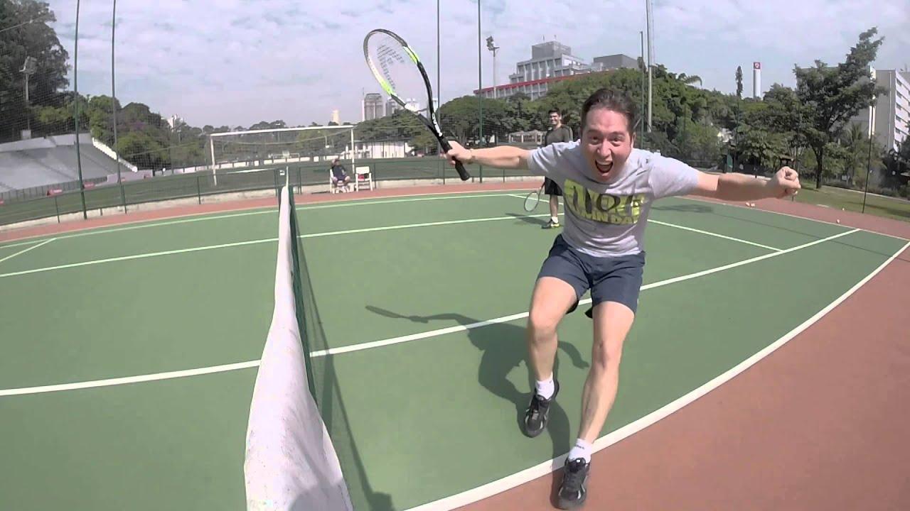 Download Jogada de Tênis espetacular! O slice mais matador de todos!