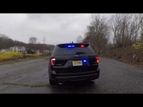 Hackensack Police Department 2018 Ford Interceptor Utility Traffic Unit