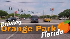 Driving Orange Park Florida Jacksonville