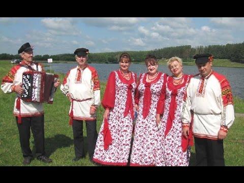 Русские народные песни на !