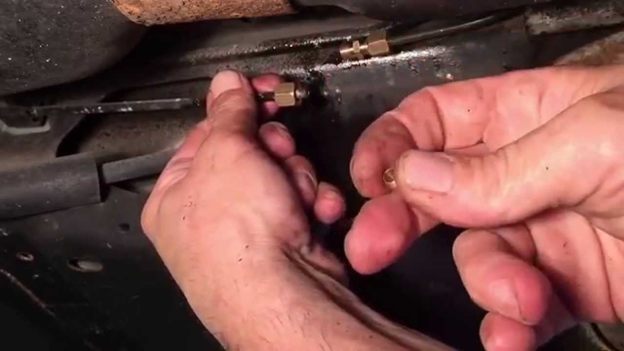 How To Fix Leaking Brake Lines Youtube Ford E150 Econoline 1999 Need The Rear Drum Diagram