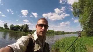 С лёгким спиннингом на реке(из нескольких рыбалок)