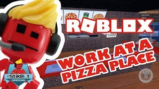 Roblox | Stikbot Gaming (Working at a Pizza Place!!)