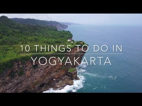 [4K] Top 10 Things to Do in Yogyakarta, Indonesia | Ft. Amanjiwo & Villa Borobudur