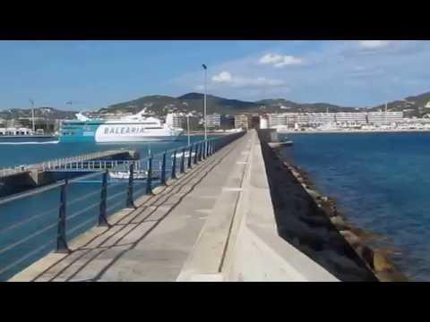 Ibiza Town Harbour View - Ibiza Balearic Island Harbour View