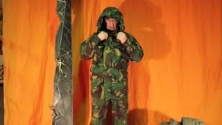 Мембранный костюм Великобритания DPM