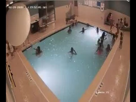 Livonia Police Release Footage Of Toddler's Near Drowning In Hotel Pool