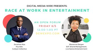 DMW Presents: Race at Work in Entertainment (June 5, 2020)