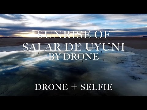 Travel the world,Uyuni vol2,Bolivia by drone(phantom)  世界一周