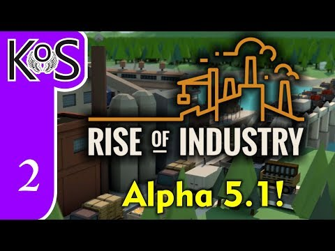 Rise of Industry Veteran Ep 2: FISHING FOR PROFITS - Alpha 5.1/Hard Mode - Let's Play, Gameplay