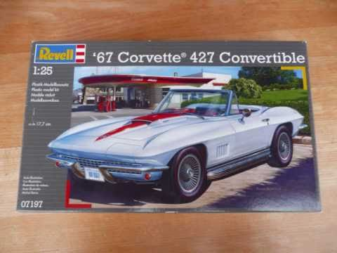 revell 1967 corvette 427 convertible 1 25 scale building review rh youtube com 67 corvette owners manual 67 corvette owners manual