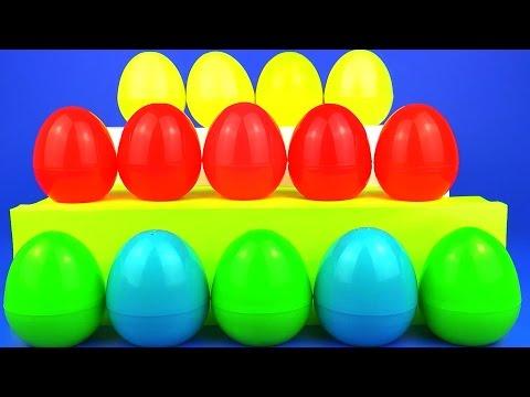 Много Игрушек Сюрприз Подарки MLP Hello Kitty Cars 2 Peppa Pig Spongebob Surprise Eggs Party Fun Toy