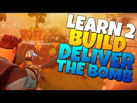 Learn 2 Build: DELIVER THE BOMB | Fortnite Save The World